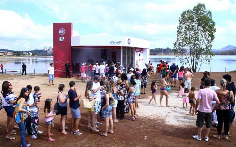 Stand FIAT - 78 anos Minas Tênis Clube